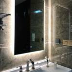 Led mirror bathroom